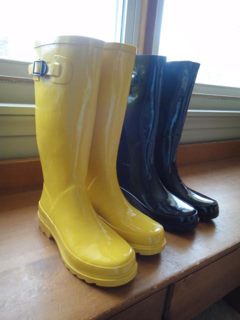 The Perfect Rain Boot