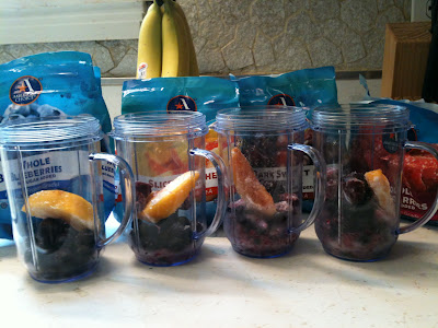 Healthy Fruit Smoothie: Use a Magic Bullet or a Blender!