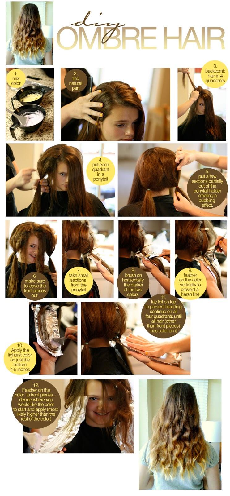Diy ombre hair color an error occurred urmus Gallery