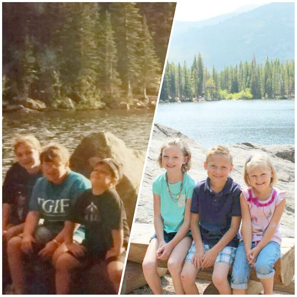 Me and my siblings at Bear Lake circa 1995 andhellip