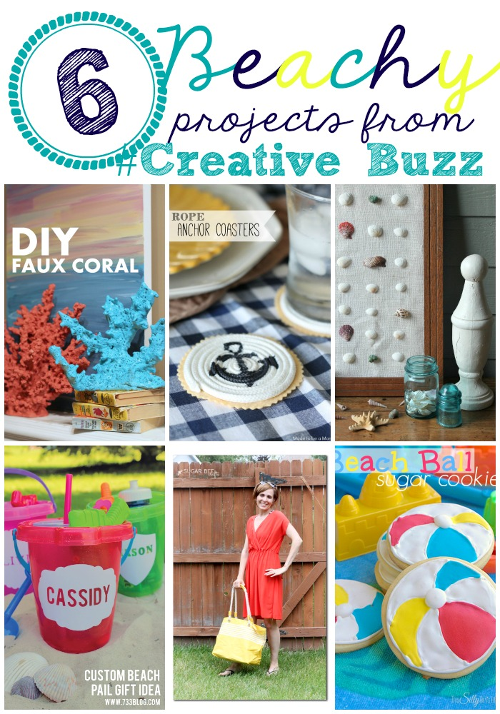 6 Beachy Projects from #CreativeBuzz