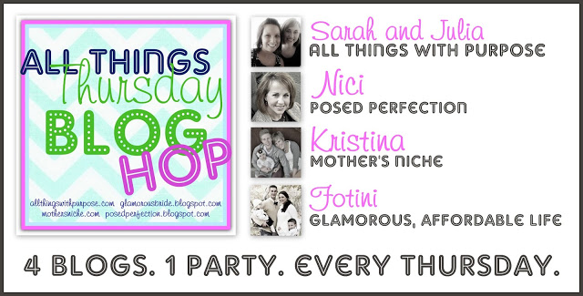 All Things Thursday Blog Hop {No. 25}