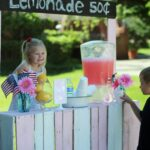 Pallet Wood Lemonade Stand
