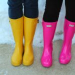Rain Boots, Fun Color and Spring Fashion