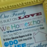 Homeschooling Family Printable