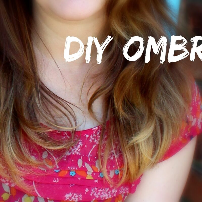 DIY Ombre Hair Color