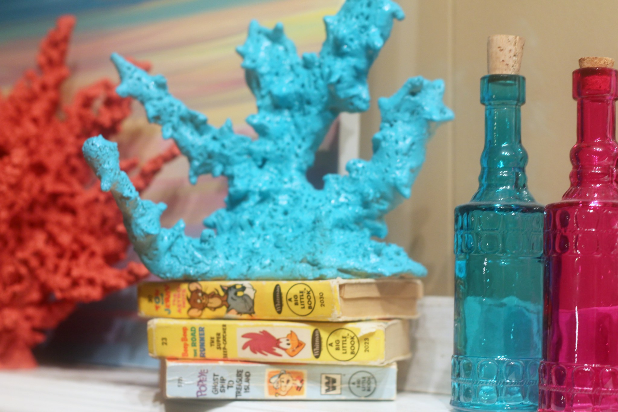 DIY Faux Coral Decorating