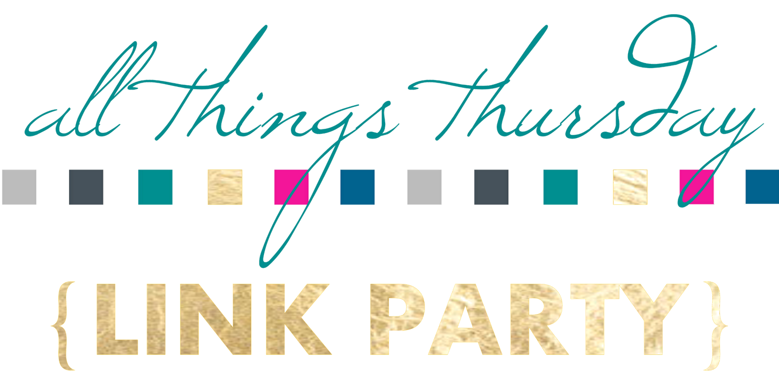 All Things Thursday Link Up Party {No. 41} 1