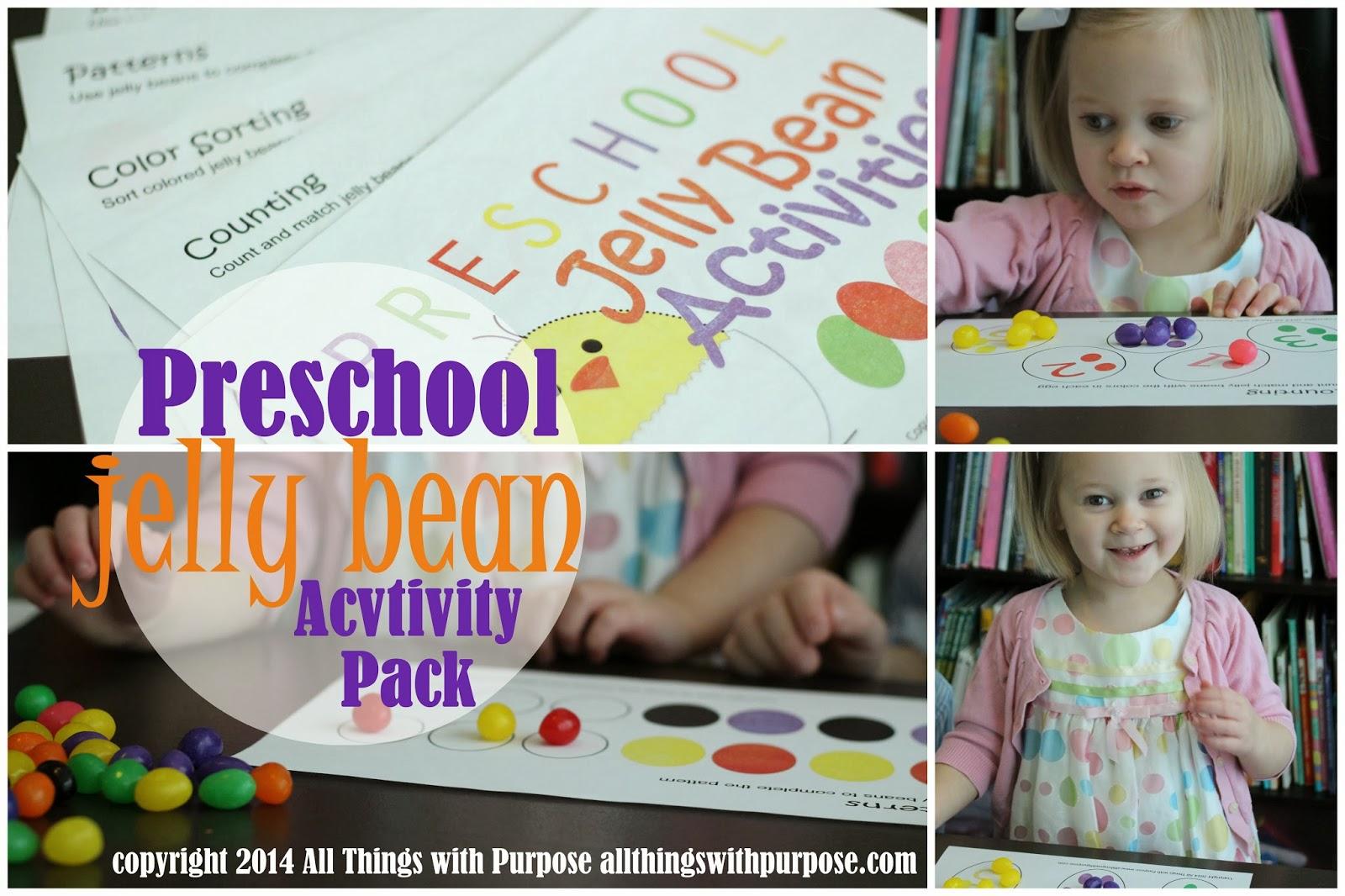 National Jelly Bean Day: Preschool Activity