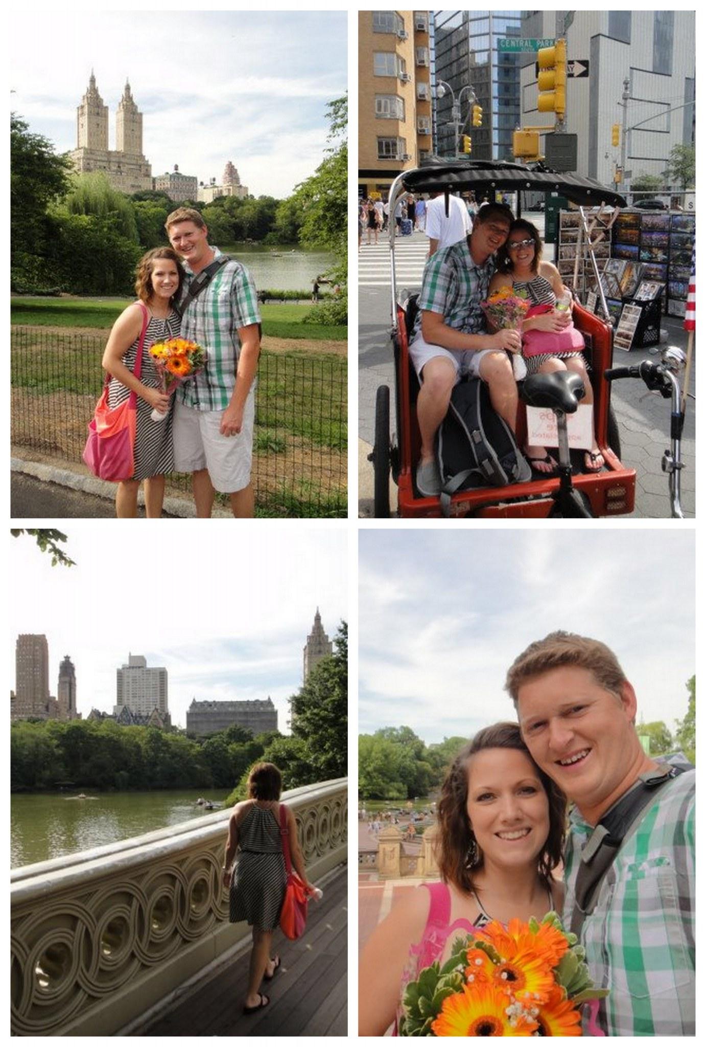 Go on a Central Park Pedicab Ride!