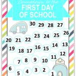 Back to School Countdown Printable and #Creativebuzz