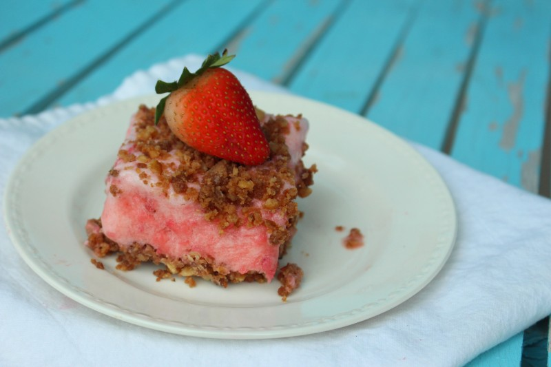 strawberry frozen dessert recipe
