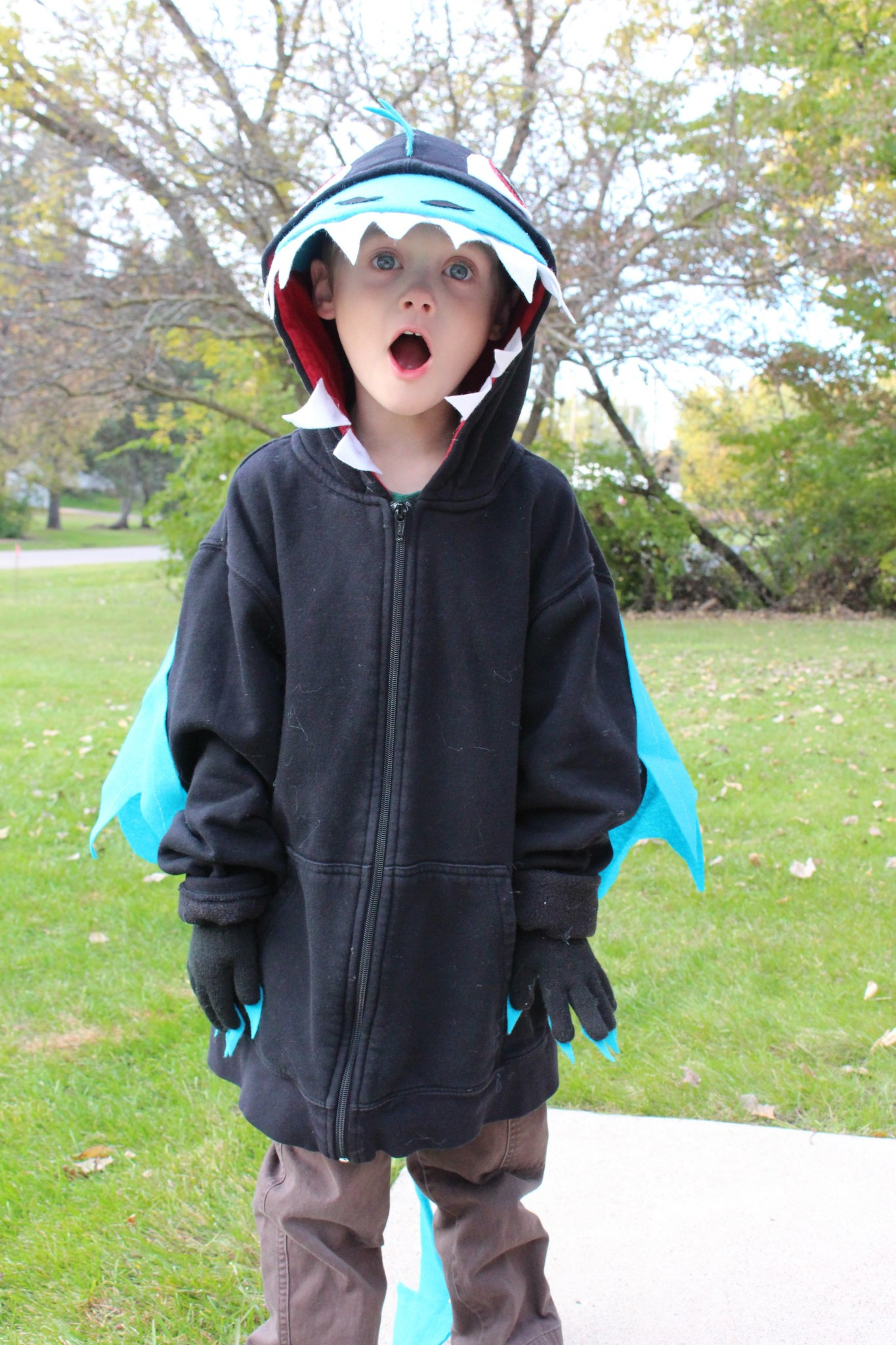 DIY DRAGON COSTUME