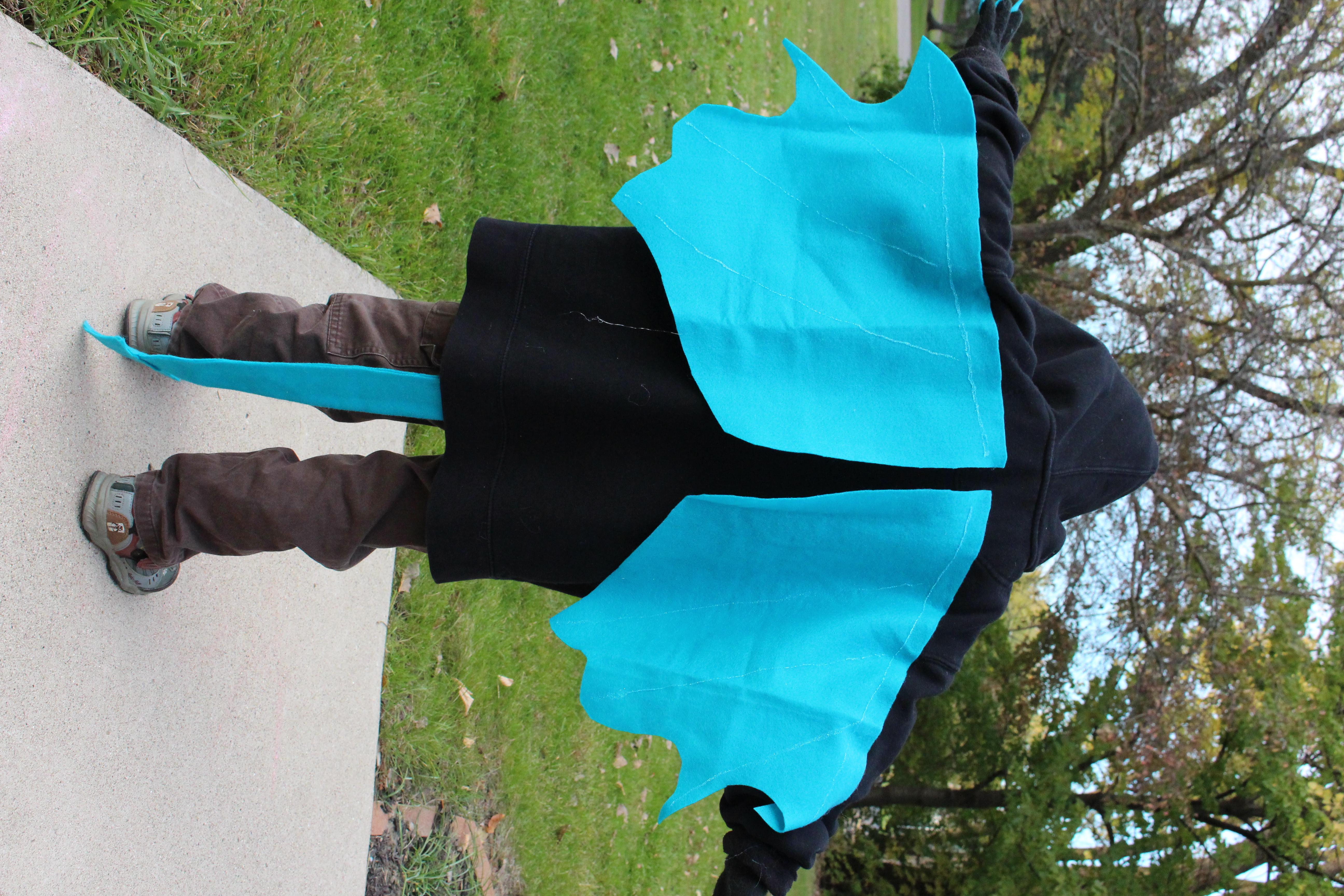 101 handmade costumes no sew dragon dragon costume solutioingenieria Choice Image