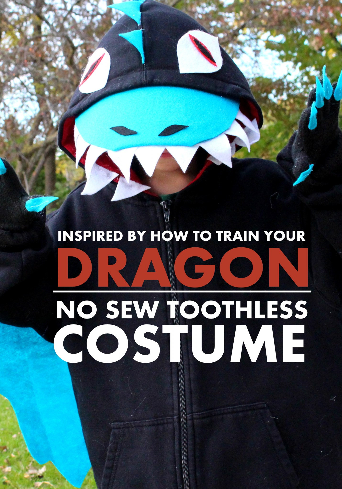 NO SEW TOOTHLESS COSTUME