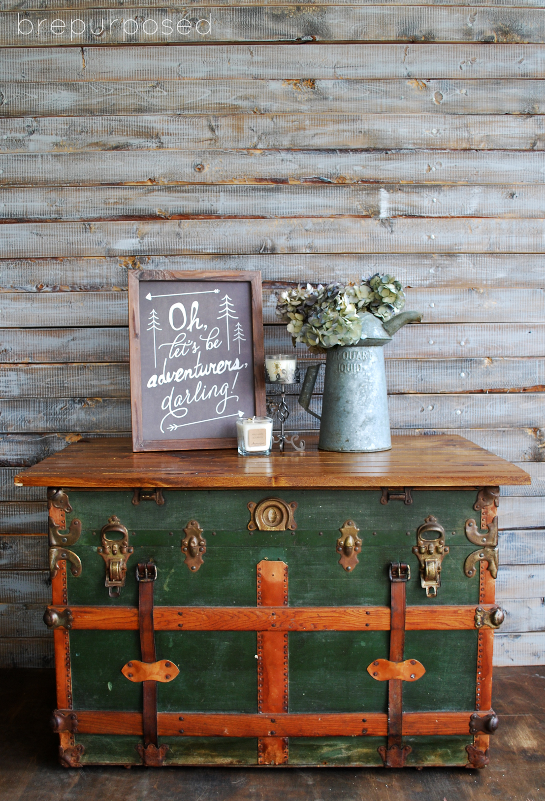 steamer trunk turned coffee table contributor post