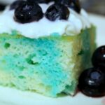 Blueberry Lemonade Poke Cake