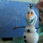 Frozen Ice Painting with Epsom Salt