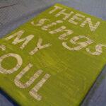 DIY Sheet Music Song Lyric Wall Art (Contributor Post)
