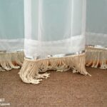 Sequin & DIY Fringe Embellished Curtains (Contributor Post)
