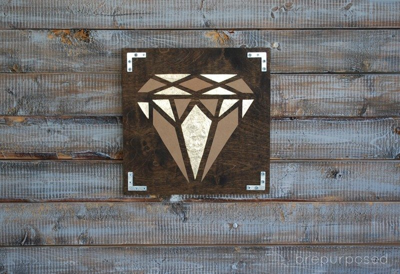 DIY Geometric Diamond Art (Contributor Post)