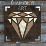 DIY Geometric Diamond Art