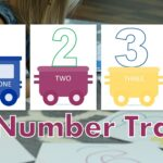 Preschool Number Train Printable