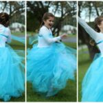 The Easiest DIY Elsa Dress {Ever!!}