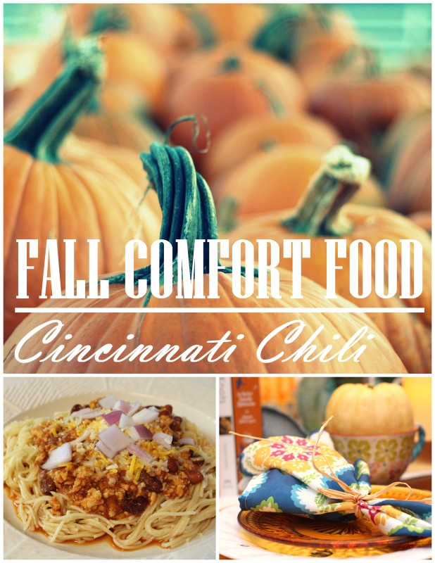 cincinnati chili comfort food