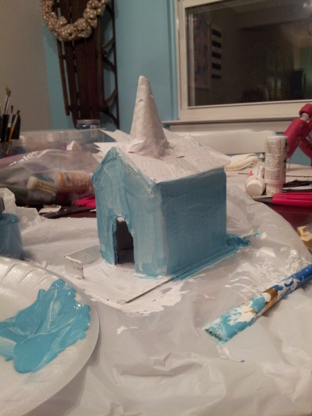 glitter house how to
