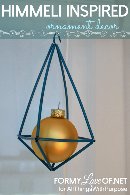 Himmeli Inspired Ornaments (Contributor Post)