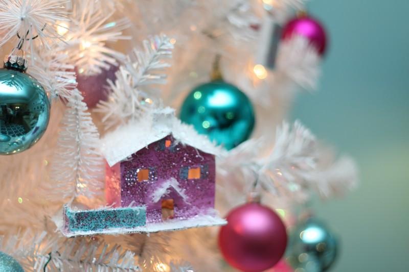 glitter house template