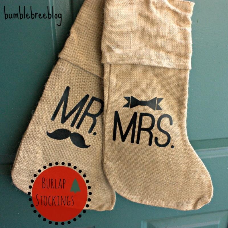 Burlap Stockings (Contributor Post)