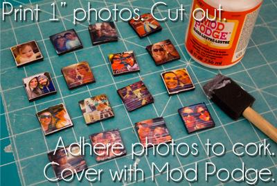 Instagram Magnet DIY