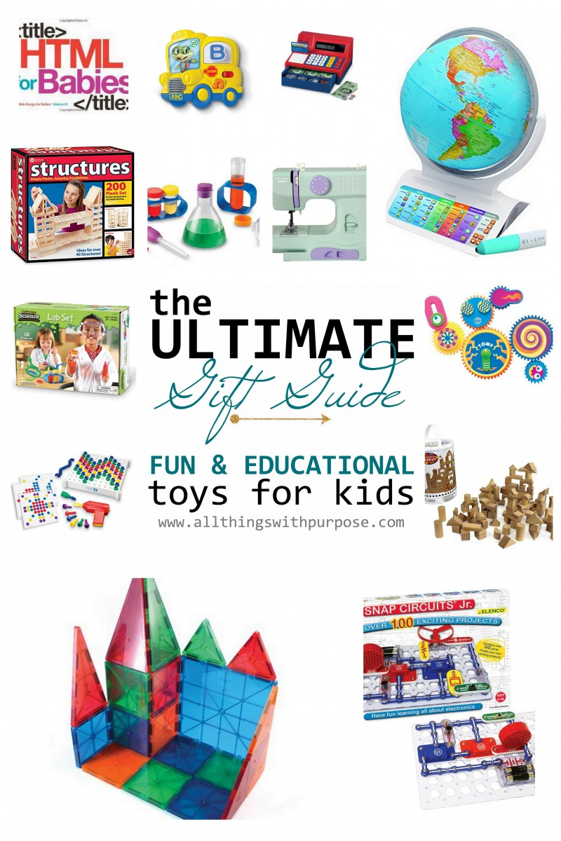 Fun And Educational Gifts For Kids Snap Circuits 300jrwondefrful Toy8 Over Welcome To My Ultimate Toy Gift Guide Putting Together A Christmas List Of Ideas Your Can Be Tough Sure There Are Plenty Things