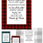 December Verse Printables and Downloads - Plaid Love!