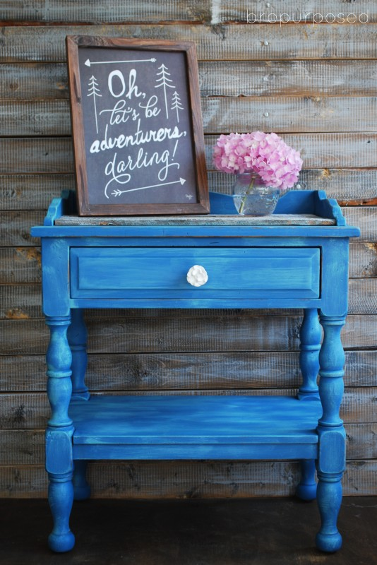 10 Painted Furniture Makeovers by Brepurposed