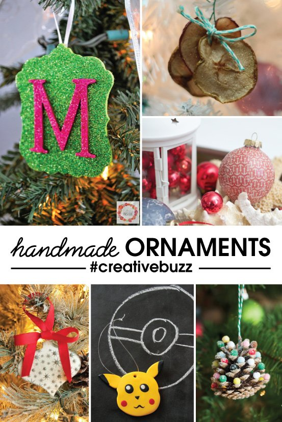 6 Handmade Ornament Tutorials