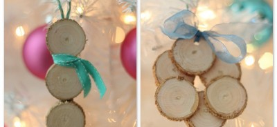 wood slice ornament ideas