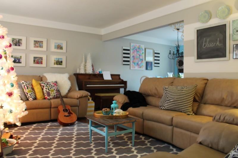 home tour living room