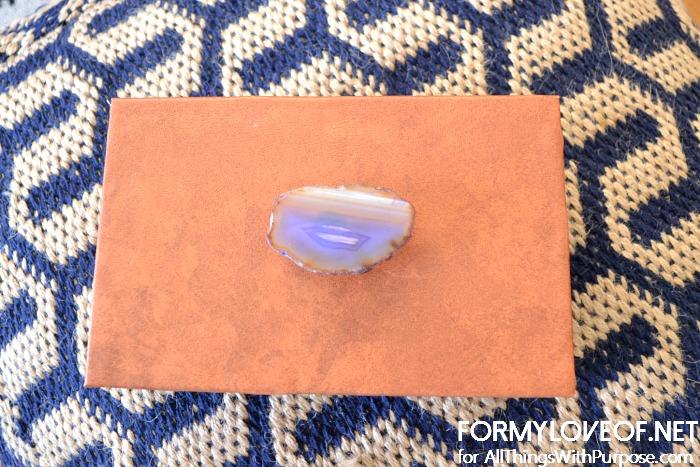 purple veining stone