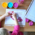 Valentine Play Dough Mats