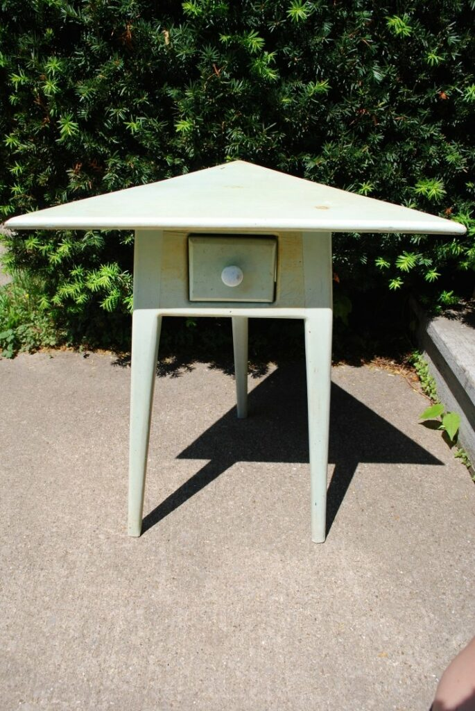 Triangular Topped Table