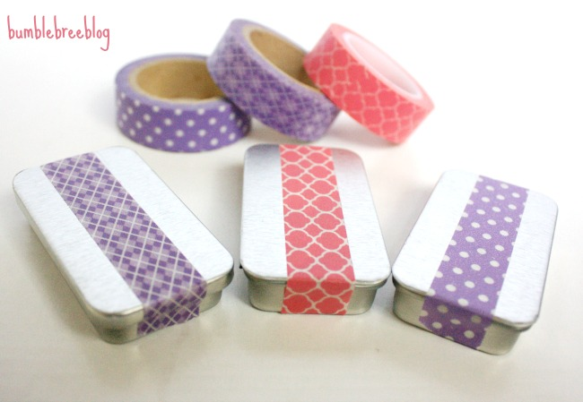 diy natural moisturizer decorated with washi tape