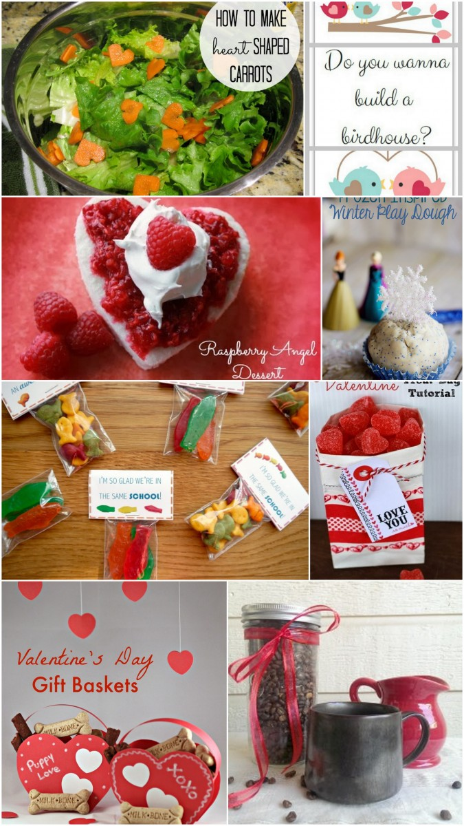 Fun Valentine snacks, desserts and gift ideas!