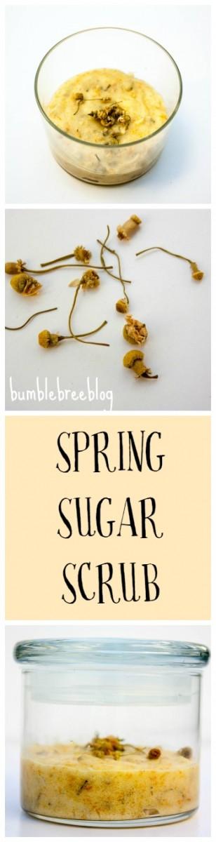Spring Sugar Scrub
