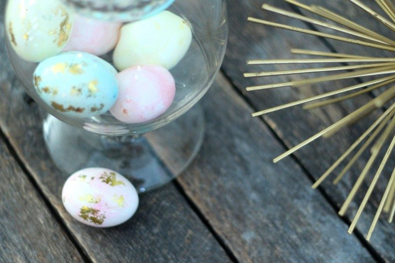 Gold Foil Easter Eggs and #Creativebuzz