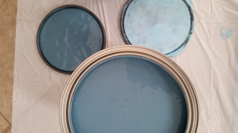 glidden: harbor and true turquoise