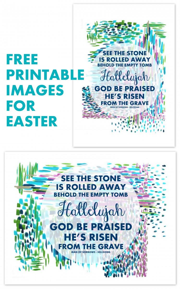 Man of Sorrows Easter Printable