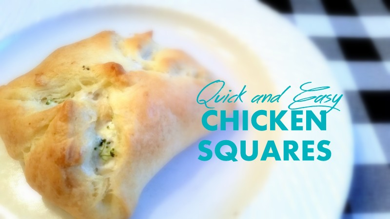 Quick and Easy Chicken Squares